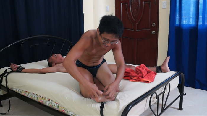 Tickling Javey. Posted by admin. Introducing a brand new gay Asian tickle ...
