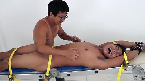 This bitch asian boy tickle ass
