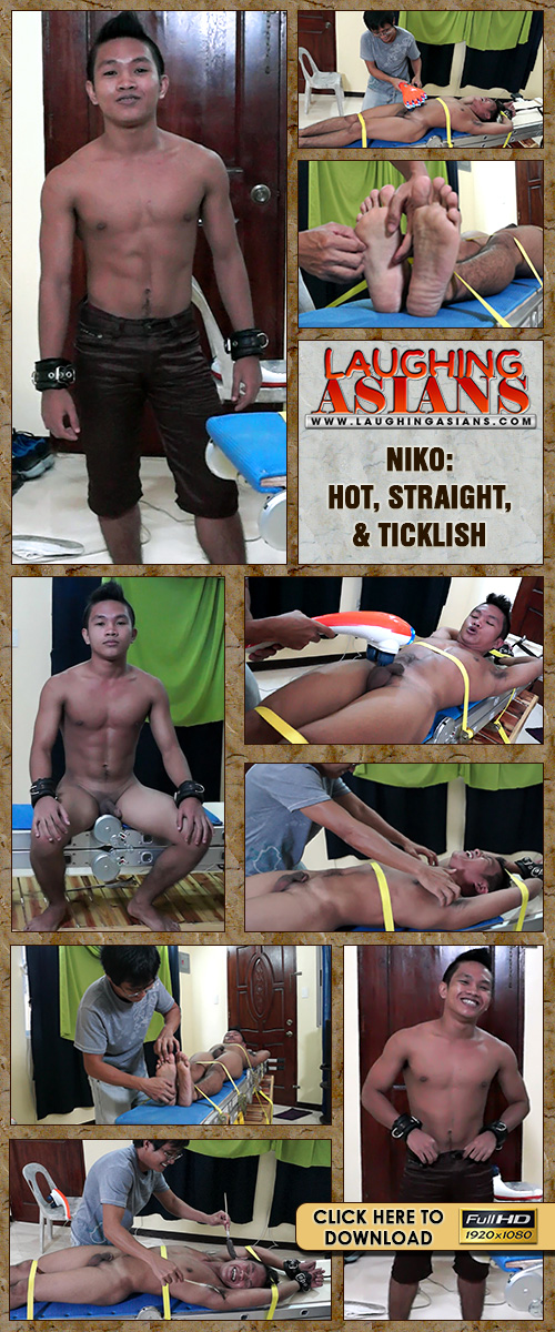 LAUGHING ASIANS: Niko - Hot, Straight, & Ticklish. This gay-4-pay straight ...
