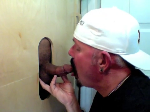 Fucking The Gloryhole Cock Sucker