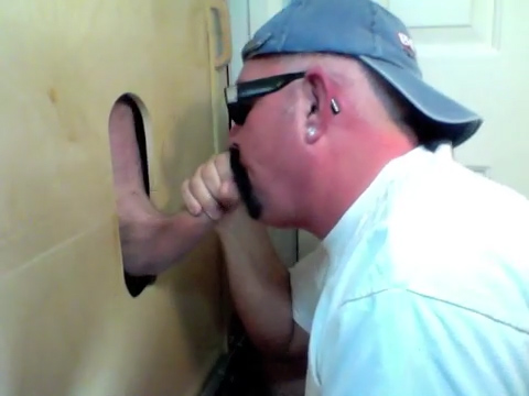 College Boy Gets Gloryhole Suck Off